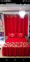 Colçhas com cortinas
