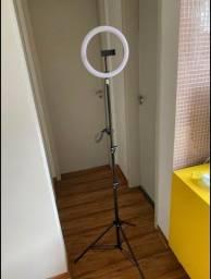 Ring light 10 polegadas com tripe 2 metros