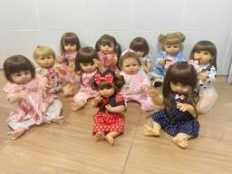 Bonecas bebês Reborn todas em Silicone realista Nova Original  (aceito cartão )