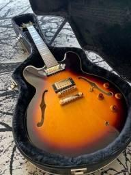 Guitarrra Epiphone Sheraton II (não Les Paul, Gibson)