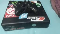 Xbox 360 com defeito + 1 controle com cabo usb