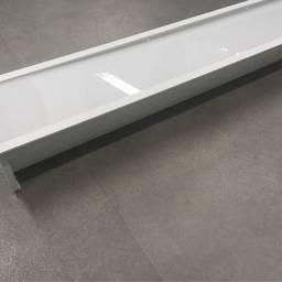 Luminária embutir alumínio Branco