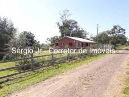 Chácara com 2.600m² e casa em Triunfo - 1 km do asfalto