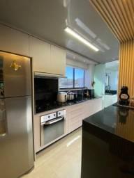 Apartamento 2D + suíte + 2 Box Cobertos + mobiliado alto padrão 136,26m²