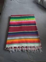 Manta mexicana artesanal.