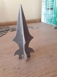 Pontas de lança para gradil e portão