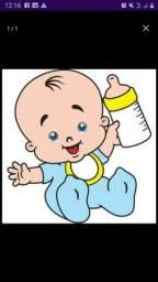 Cuidadora de criança babá