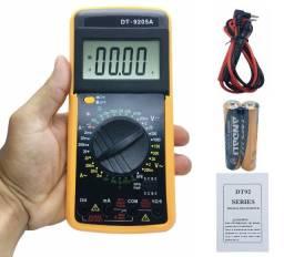 Multímetro e Capacímetro Digital Profissional - Pronta Entrega