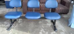 Longarinas  de tres cadeiras