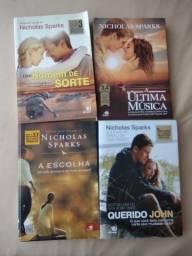 Livros Nicolas Sparks