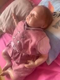 Bebê Reborn valentinna comprada na macro baby