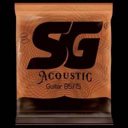 Encordoamento SG para violão (bronze)