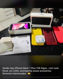 IPhone 7 Plus Black 128 gigas