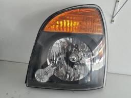 Farol LE Hyundai HR 2013 a 2018 Mascara Negra Original