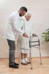 Andador Ortopédico Adulto Idoso Dobrável Articulado