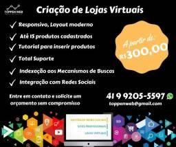 Criação de Loja Virtual / E-commerce