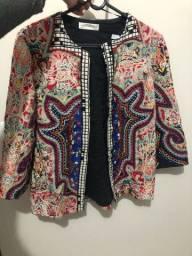 Casaco tamanho P Zara importado do México super estiloso