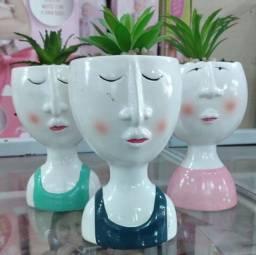 Vasinho Decorativo cm planta artificial