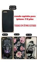 CAPINHA PARA IPHONE 7/8 PLUS