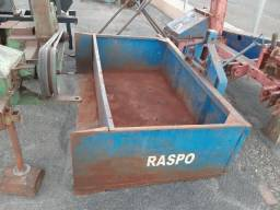 Raspo de hidraulico de trator