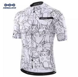 Camisa ciclismo TAM XL (veja descrição)