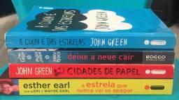 Vendo coleção de 4 livros do John Green