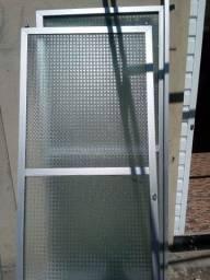 Posta de vidro.