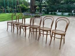 Conjunto de Cadeiras de Palhinha Thonart