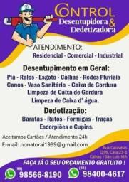 Desentupidora e Dedetizadora em São Luís
