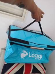 Bag de moto da loggi nova!!!