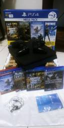 Playstation 4 - 1TB Completo