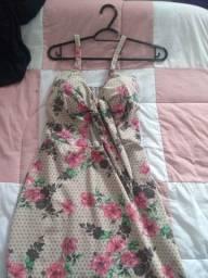 Vestido MIDI florido (usado)