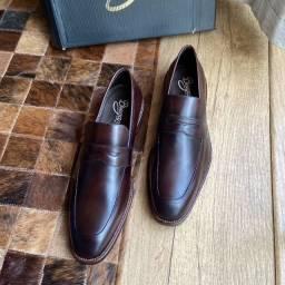 Sapato Social Mocassim Dundalk Brown 44