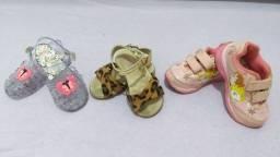 Calçados infantil tam 22