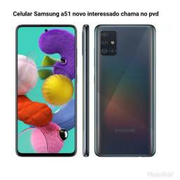 Samsung a51 novo na caixa