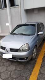 Clio Sedan 1.6 16V Completo - 2007 - Só R$ 8 mil
