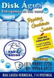 Depósito de água mineral