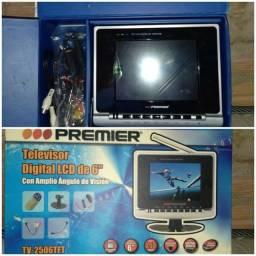 "Televisor digital LCD de 6"", NOVO"