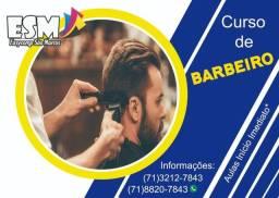 Curso de Barbeiro Profissional -  Presencial