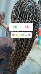 Promoção box braids