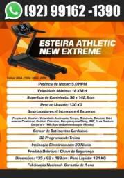 Esteira Super Luxo Semi-Profissiona Athletic Extreme Motor 5.0 Hpm Até 18km/h