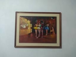Quadro pintado bailarinas