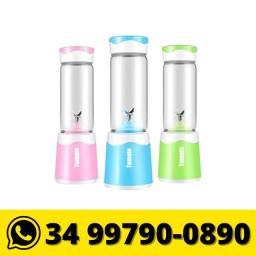 Liquidificador Portátil Copo Vidro 6 Lâminas