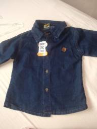 Camisa de manga infantil
