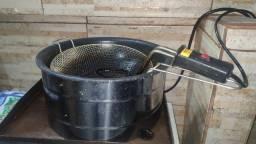 Fritadeira elétrica esmaltada