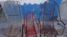 3 cadeiras de balanço 200 reais perfeito estado
