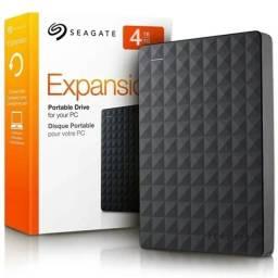 HD externo Portátil Seagate Expansion 4TB STa4000400 Preto