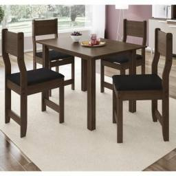 Sala mesa jantar 4 cadeiras ZAP *