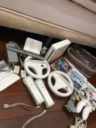 Nintendo Wii completo + mario kart