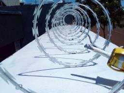 Concertina galvanizada de e cerca elétrica em promoção!!!